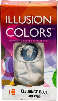 Контактные линзы Illusion Colors Elegance 2 линзы купить в Санкт-Петербурге недорого